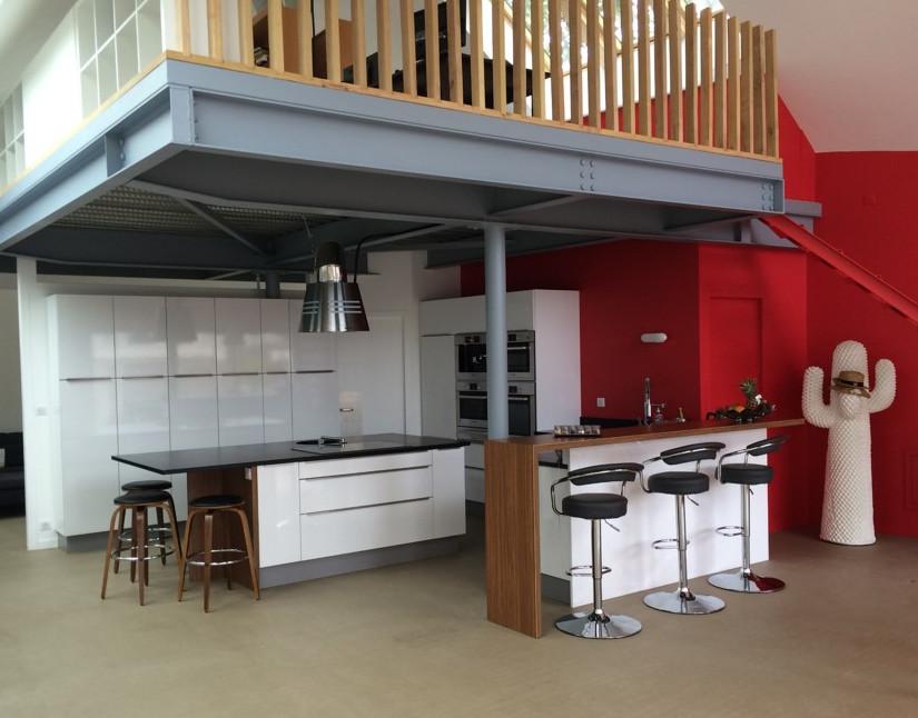 Cuisine atelier lebouvier - juillet 2015