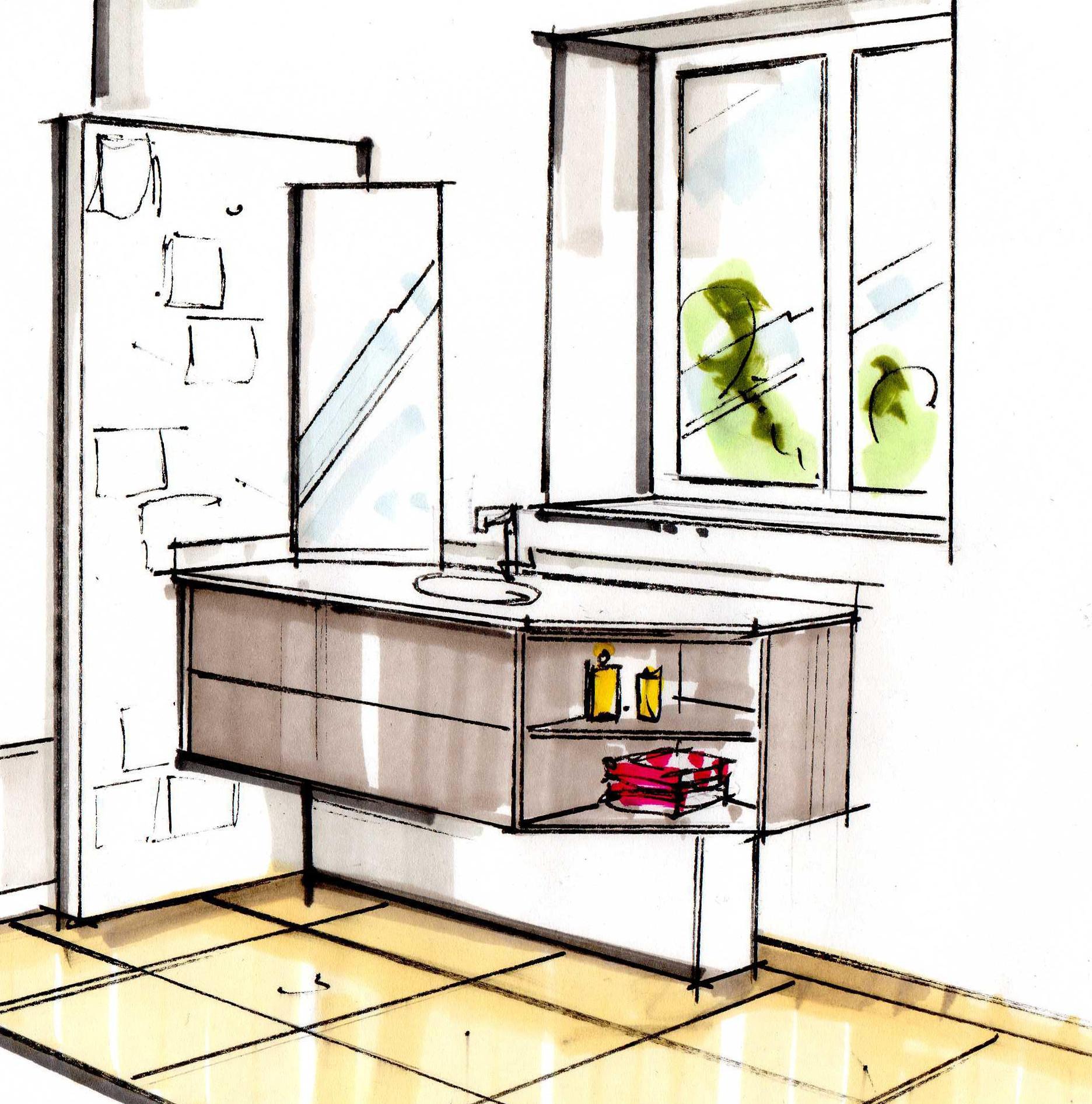 Salle de bain - Fabrication artisanale